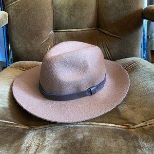H&M Felted Boho Tan & Brown Hat